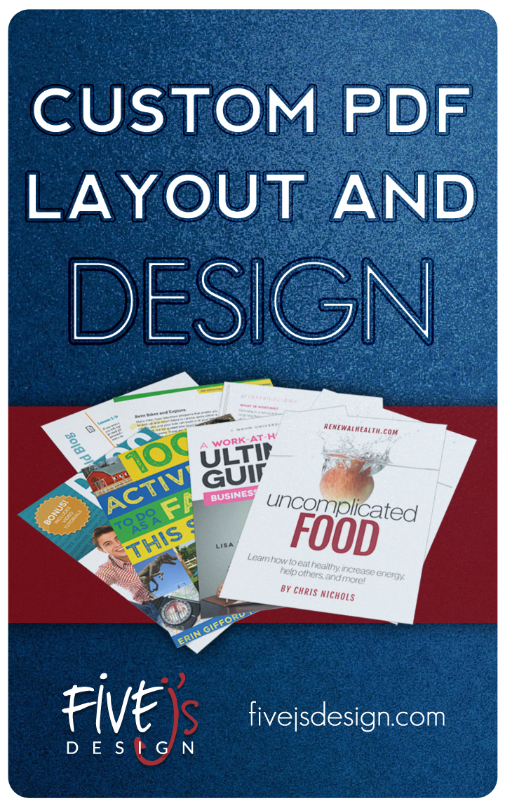 Custom PDF Layout and Design