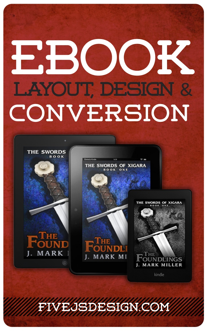 Ebook Layout, Design, & Conversion