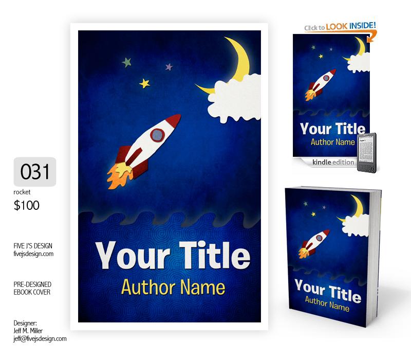 pre-designed book covers