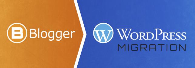 Blogger to Wordpress Migrations